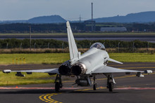 Typhoon Taxiing Out