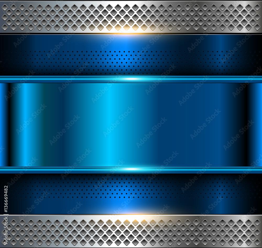 Unduh 1060+ Background Blue Metal HD Paling Keren