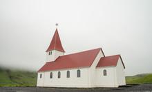 Scenic Traditional Icelandic Church