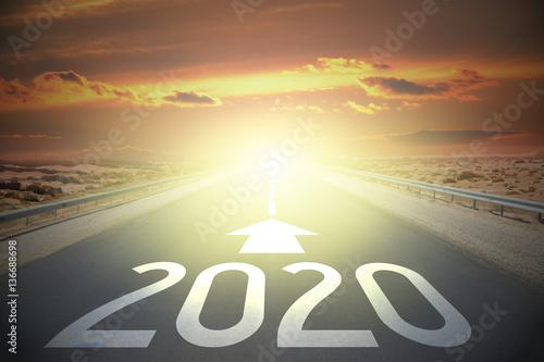Fotografia  Road concept - 2020
