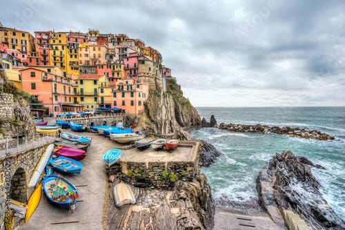 Foto auf Gartenposter Ligurien Manarola, Cinque Terre National Park, Liguria, Italy