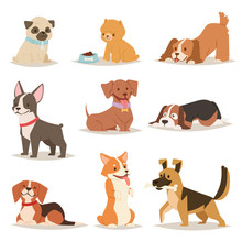 Funny Cartoon Dogs Characters ...
