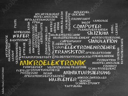 Fotografie, Obraz  Mikroelektronik