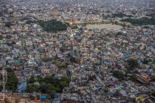 Plakát  Aerial view of jaipur taken from Nahargarh Fort
