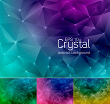 Crystal Abstract Background 8