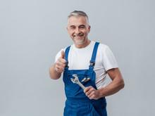 Cheerful Repairman