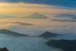 Morning Fog on mountain