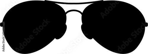 Photographie Aviator Sunglasses in Silhouette
