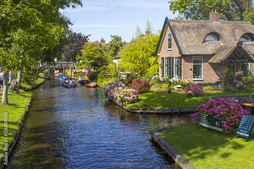 GIETHOORN, NETHERLANDS Canvas Print