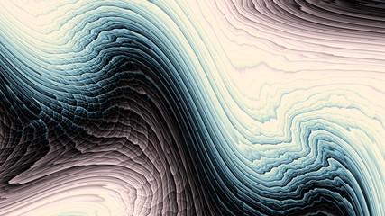 Horizontal geometric background