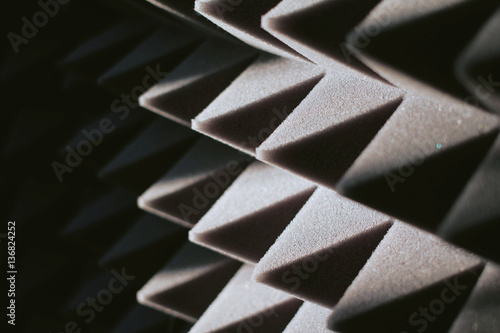 Fotografie, Tablou soundproof panel of polyurethane foam