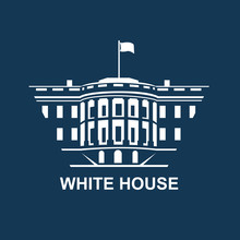 White House Building Icon In W...