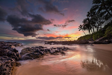 Moody Sunset On The Tropical H...