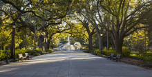 Forsyth Park Fountain, Savanna...