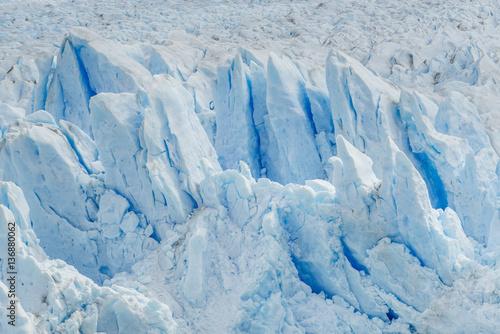 Foto op Aluminium Fantasie Landschap Fragment of Perito Moreno Glacier. Los Glaciares National Park. Patagonia, Argentina