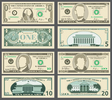 Dollar Banknotes, Us Currency ...