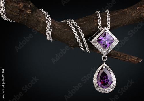 Jewelry  pendant witht gem ...