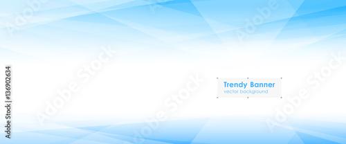 Obraz na plátně LowPoly Trendy Banner with copyspace