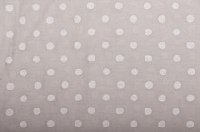 Fabric Texture Grey Pattern With Polka Dots