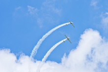 Planes On The Sky During The Airshow
