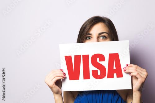 Vászonkép Visa