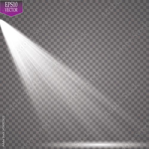 Fototapeta Vector Spotlights. Scene. Light Effects  obraz na płótnie