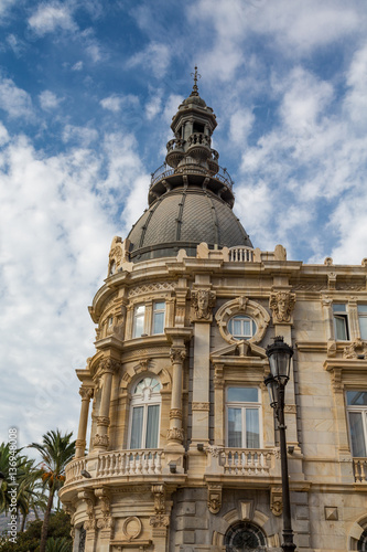 Fotobehang Old Government Building in Cartagena Spain