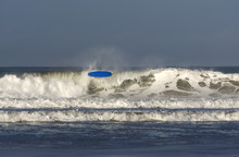 A Surfer 'wipes Out' At Portht...