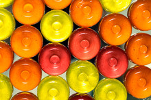 Colorful Candy Onbackground Wi...