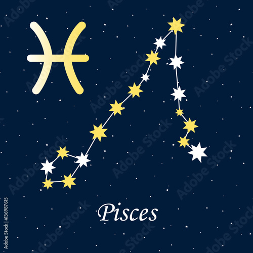 constellation Pisces zodiac horoscope astrology stars night