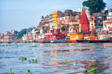 View Of Varanasi From Ganges R...