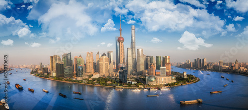Foto-Kassettenrollo premium - Shanghai city