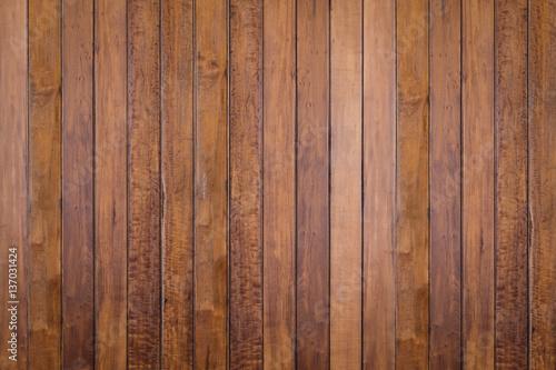 Fototapeta Brown plank wooden wall obraz na płótnie