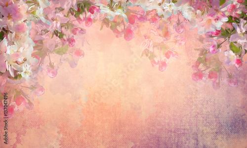 malowanie-wisniowego-kwiatu-wiosny