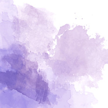 Violet Watercolor Background V...