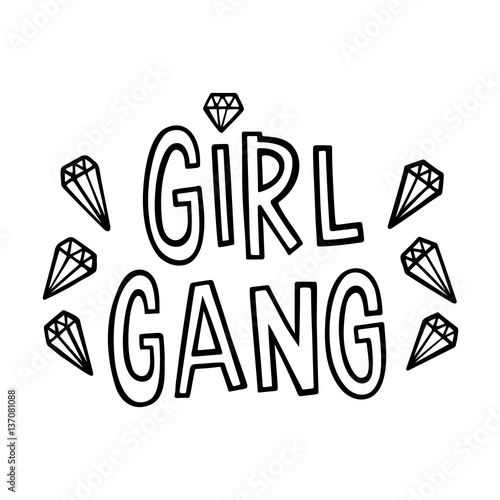 girl-gang-the-quote-hand-drawing