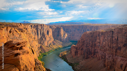 Cadres-photo bureau Marron Horseshoe Bend