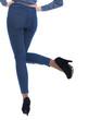 Female body part denim jeans