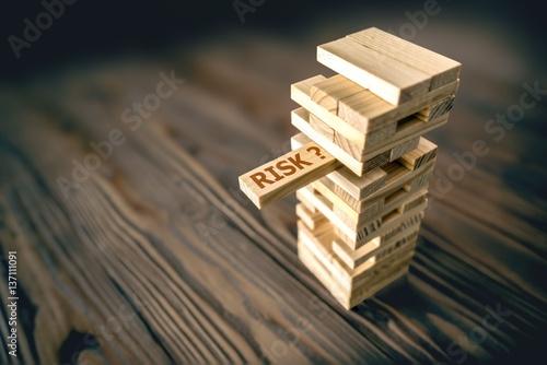 Fotografía  Risk Management Concept