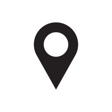 Location Icon Illustration