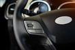 Modern car interior dashboard and steering wheel