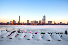 The Charles River In Winter