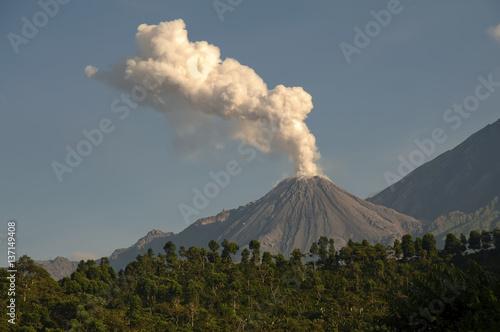 Fotografie, Obraz  Volcano in Guatemala