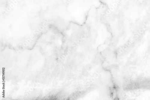 Fototapeta white marble texture background / gray marble texture background floor decorative stone interior stone  obraz na płótnie