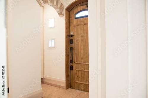 Fotografie, Obraz  お洒落な玄関ドア