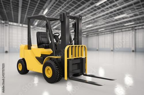 Zdjęcie XXL wózek widłowy w fabryce