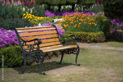 Fototapety, obrazy: Parc fleuri