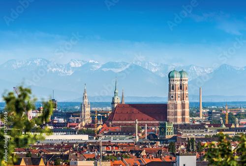 München Frauenkirche Munich Stock Photo - 137175645
