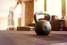 Closeup Image Of A Fitness Equ...