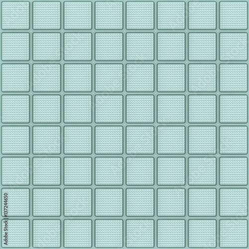 Fotografia, Obraz  Glass block wall, Seamless texture of window units